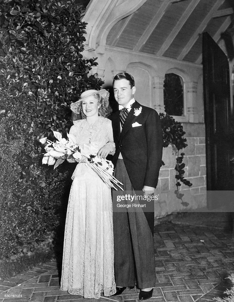 Ginger Rogers and Lew Ayres : News Photo