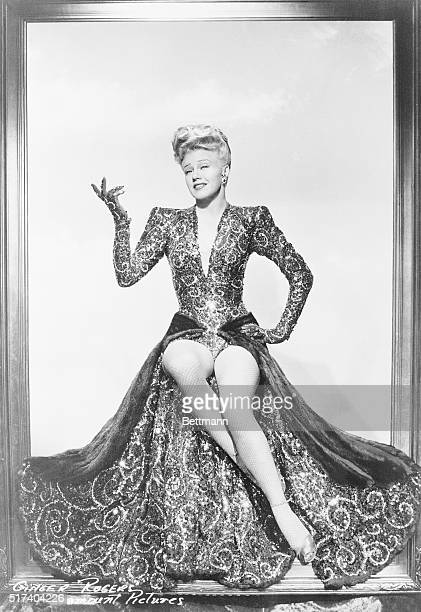 Ginger Rogers wears the gown, worth close to $6 she dawns in the 1944 comedy Lady in the Dark. The blouse is made of red and gold sequins and she...