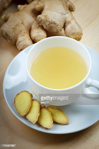ginger root tea - ginger spice stock pictures, royalty-free photos & images