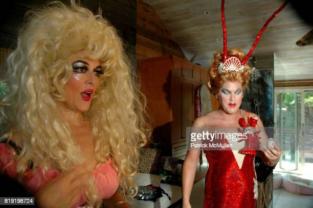 Ginger Snap and Coco Love attend INDEPENDENCE DAY THE INVASION OF THE PINES at Cherry Grove and Fire Island Pines on July 4 2010 in Brookhaven New...