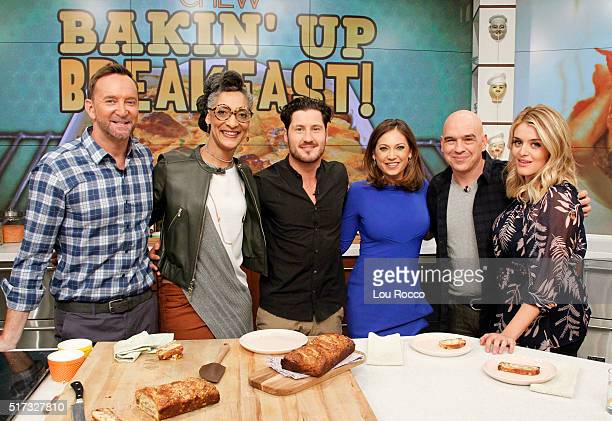 THE CHEW Ginger Zee and Val Chmerkovskiy are the guests Wednesday March 23 2016 on THE CHEW airing MONDAY FRIDAY on the Walt Disney Television via...