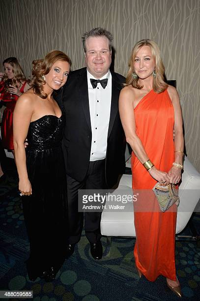 Ginger Zee Eric Stonestreet and Lara Spencer attend the Yahoo News/ABCNews PreWhite House Correspondents' dinner reception preparty at Washington...
