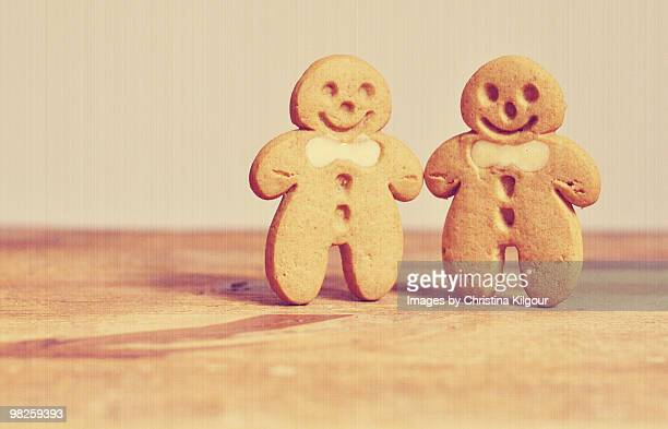 gingerbread biscuits - 2000 2009 stock pictures, royalty-free photos & images