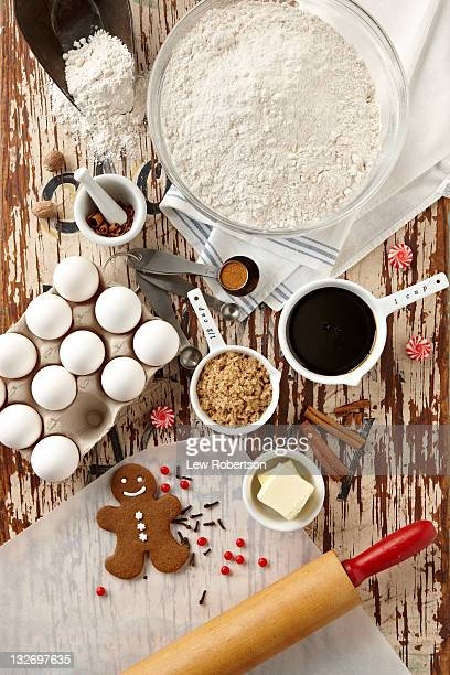 Gingerbread Cookie Preparation