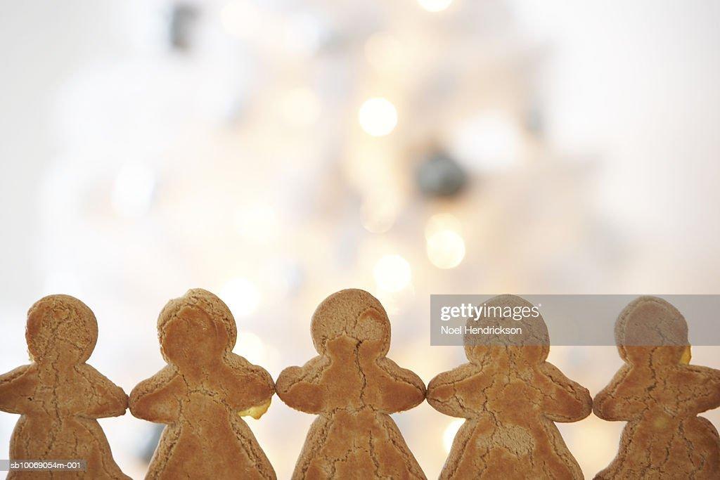 Gingerbread cookies : Stockfoto