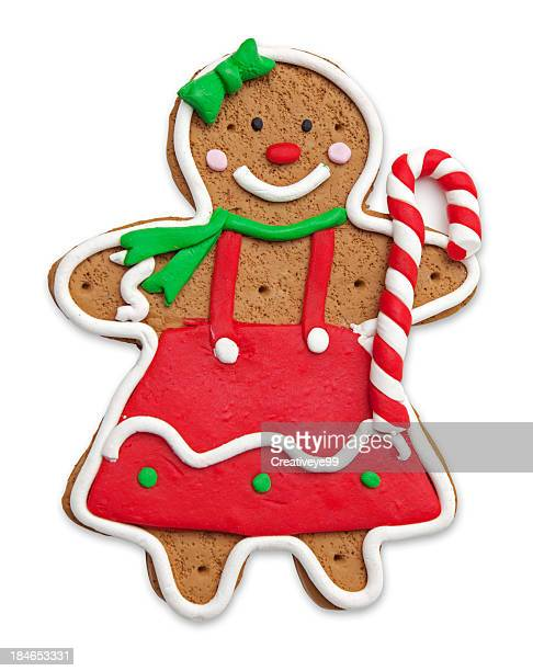 gingerbread girl - gingerbread man stock photos and pictures