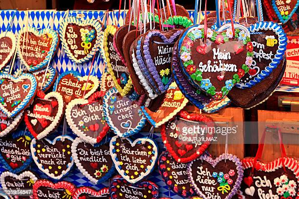 Gingerbread hearts, Germany