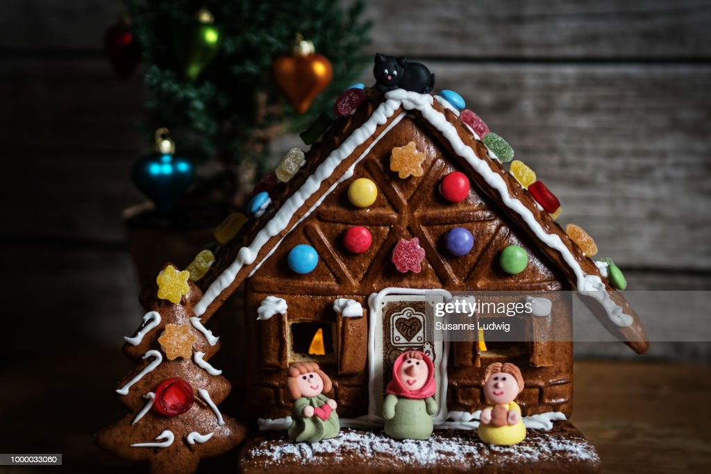 gingerbread house : Stock Photo