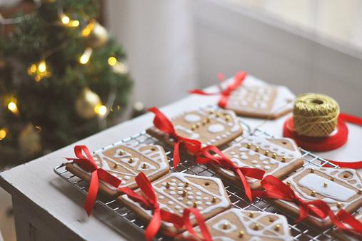 Gingerbread houses - gettyimageskorea