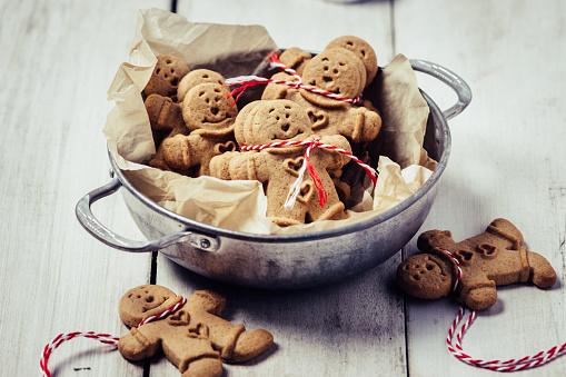 Gingerbread man cookies - gettyimageskorea