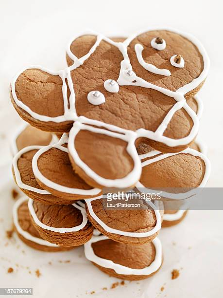 Gingerbread Men Cookies at Christmas Time