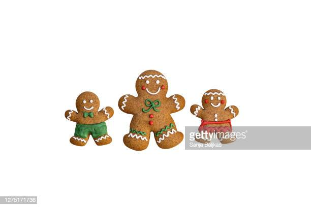 gingerbread mother - gingerbread men stock pictures, royalty-free photos & images