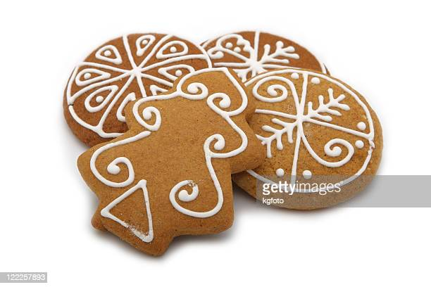 gingerbread - gingerbread cookie stock pictures, royalty-free photos & images