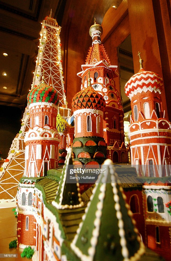 San Diego Displays Gingerbread City For The Holidays   : News Photo