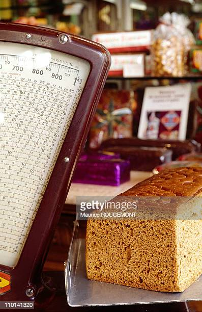 Gingerbread sold by the weight in Dijon France in 1997