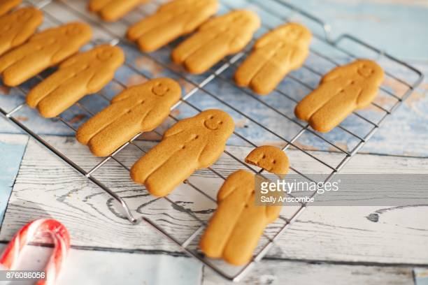 gingerbreads ready to be decorated - imperfection stock pictures, royalty-free photos & images