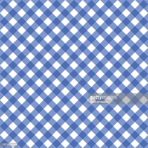 gingham pattern background texture - ギンガムチェック ストックフォトと画像