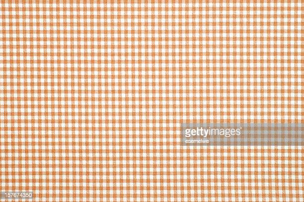 gingham pattern fabric - checked pattern stock pictures, royalty-free photos & images