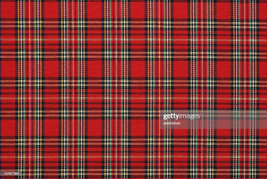 gingham pattern fabric : Stock Photo