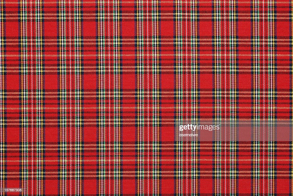 gingham pattern fabric : Stock Photo