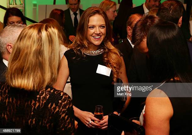Ginia Rinehart attends the Official Welcome Home Celebration For The 2014 Sochi Olympians And Paralympians at Museum of Contemporary Art on May 9...