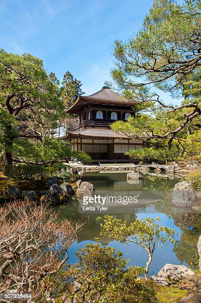 Ginkakuji a villa named Silver Pavilion constructed in 1482 for Shogun Ashikaga Yoshimasa and converted into a Zen Buddhist temple after his death in...