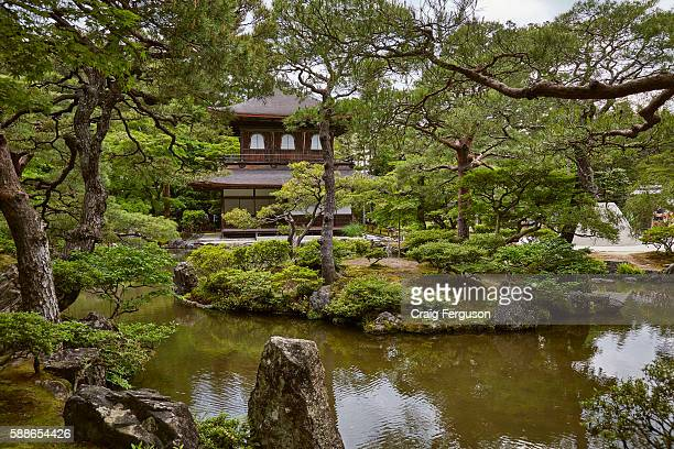 Ginkakuji the Temple of the Silver Pavilion This Zen temple dates back to 1482 although plans for the grounds were made as early as 1460
