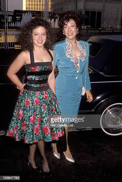 Ginna Carter and Dixie Carter during CBS Television Network's Annual Affiliates Convention at Century Plaza Hotel in Los Angeles California United...