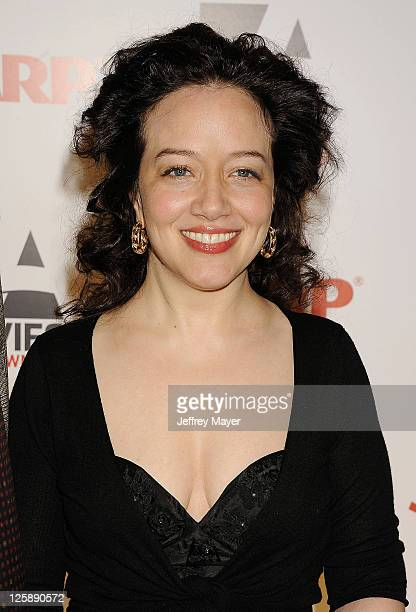 Ginna Carter attends the AARP The Magazine's 10th Annual Movies for Grownups Award Gala at The Beverly Hilton hotel on February 7 2011 in Beverly...
