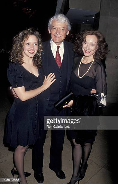 Ginna Carter Hal Holbrook and Dixie Carter during 5th Annual Governor's Awards at Beverly Hilton Hotel in Beverly Hills California United States