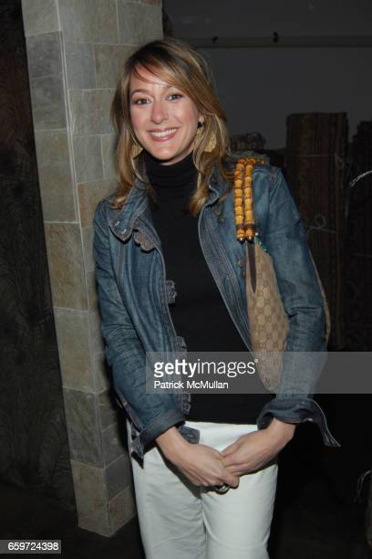 Ginna Christensen attends WOVEN ACCENTS Introduces The FLORENCE BROADHURST Rug Collection During West Week at Woven Accents on March 26 2009 in West...