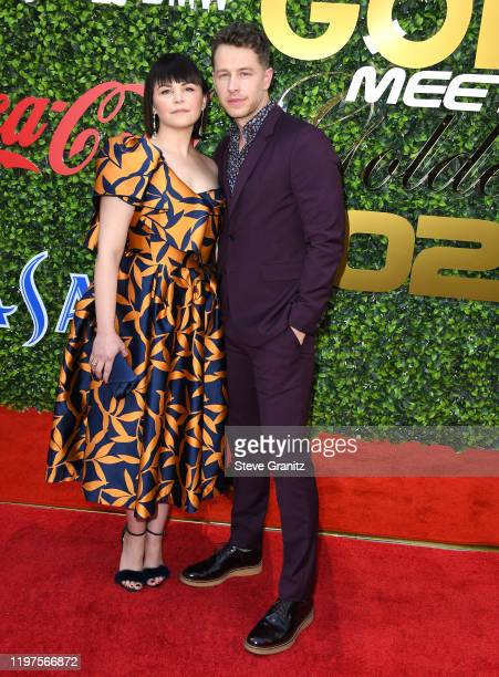 Ginnifer Goodwin and Josh Dallas arrives at the 7th Annual Gold Meets Golden at Virginia Robinson Gardens and Estate on January 04, 2020 in Los...