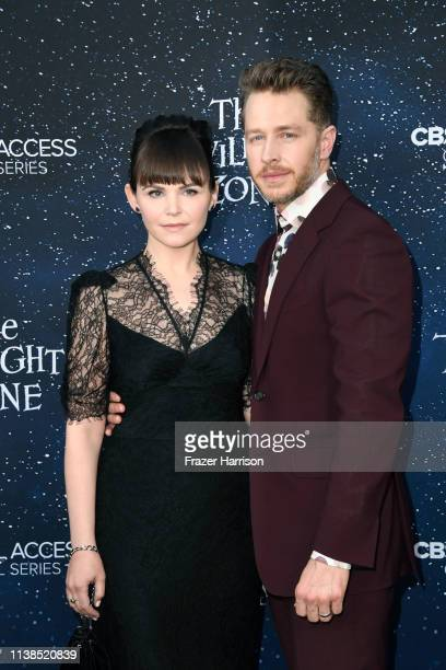 Ginnifer Goodwin and Josh Dallas attend CBS All Access new series The Twilight Zone premiere at the Harmony Gold Preview House and Theater on March...