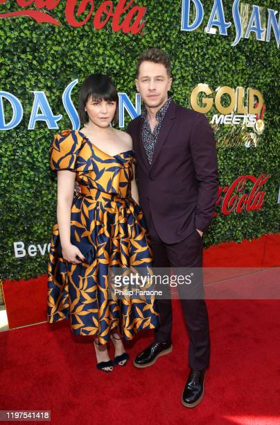 Ginnifer Goodwin and Josh Dallas attend GOLD MEETS GOLDEN 2020, presented by Coca-Cola, BMW Beverly Hills And FASHWIRE, and hosted by Nicole Kidman...