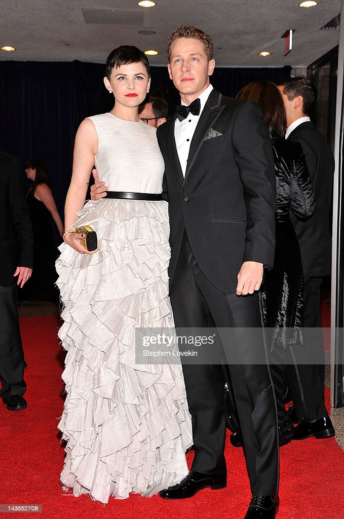 Ginnifer Goodwin and Josh Dallas attend the 98th Annual White House Correspondents' Association Dinner at the Washington Hilton on April 28, 2012 in Washington, DC.