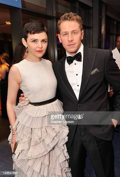 Ginnifer Goodwin and Josh Dallas attend the Capitol File's 7th Annual White House Correspondents' Association Dinner after party at The Newseum on...