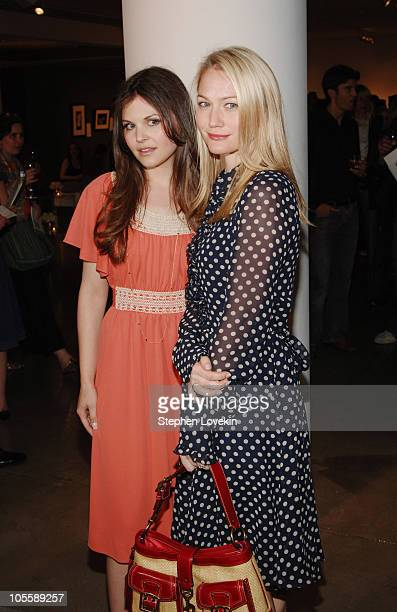 Ginnifer Goodwin and Sarah Wynter during Allure Magazine and Lancome Unveil 'Most Alluring Bodies' Photo Exhibit at MILK Studios in New York City,...