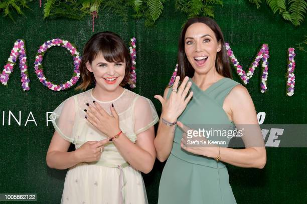 Ginnifer Goodwin and Whitney Cummings attend Adina Reyter Friendship Bracelet Launch at Soho House on July 26 2018 in West Hollywood California