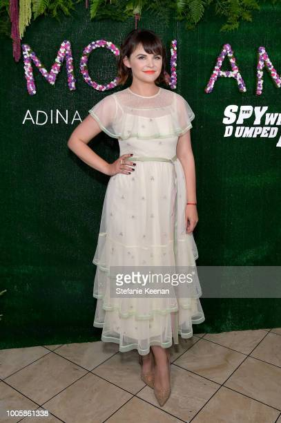Ginnifer Goodwin attends Adina Reyter Friendship Bracelet Launch at Soho House on July 26 2018 in West Hollywood California