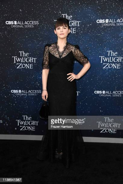 Ginnifer Goodwin attends CBS All Access New Series The Twilight Zone Premiere at the Harmony Gold Preview House and Theater on March 26 2019 in...