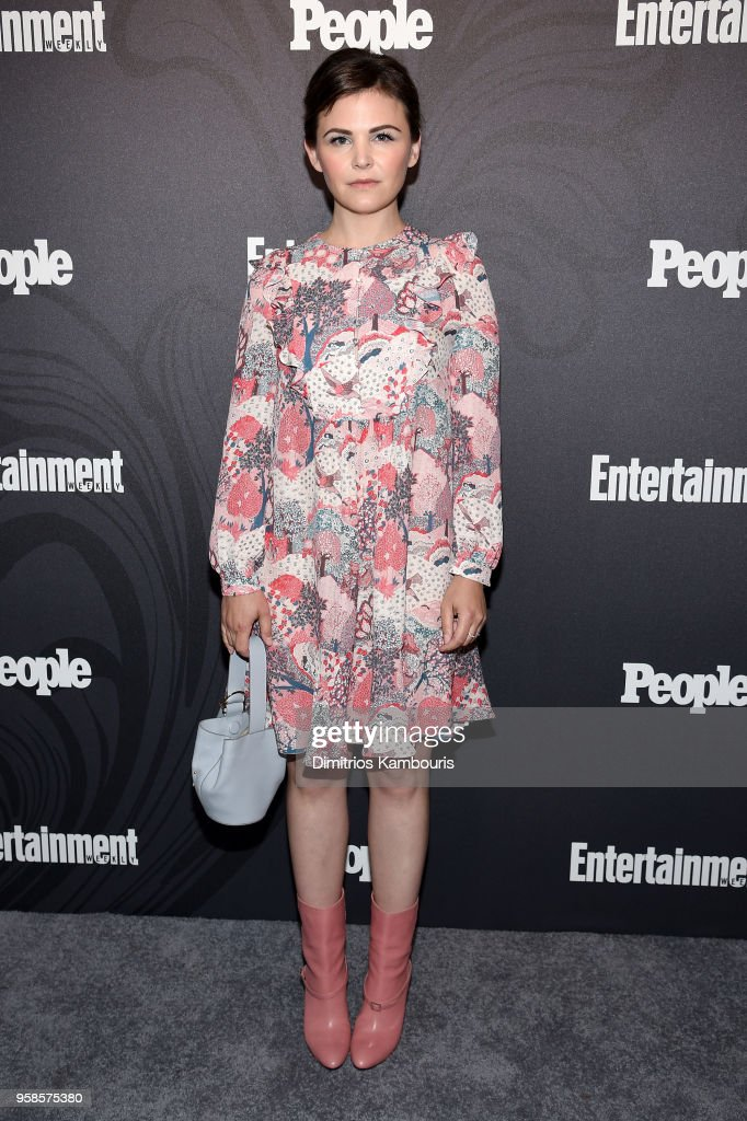 Ginnifer Goodwin attends Entertainment Weekly & PEOPLE New York Upfronts celebration at The Bowery Hotel on May 14, 2018 in New York City.