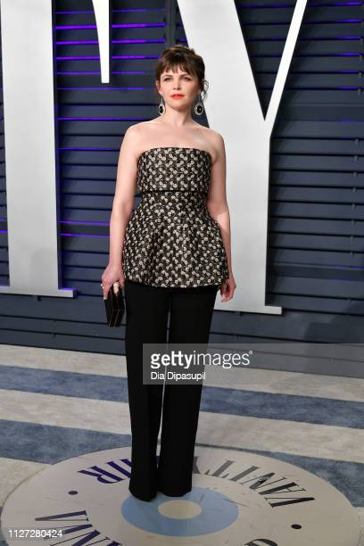 Ginnifer Goodwin attends the 2019 Vanity Fair Oscar Party hosted by Radhika Jones at Wallis Annenberg Center for the Performing Arts on February 24...
