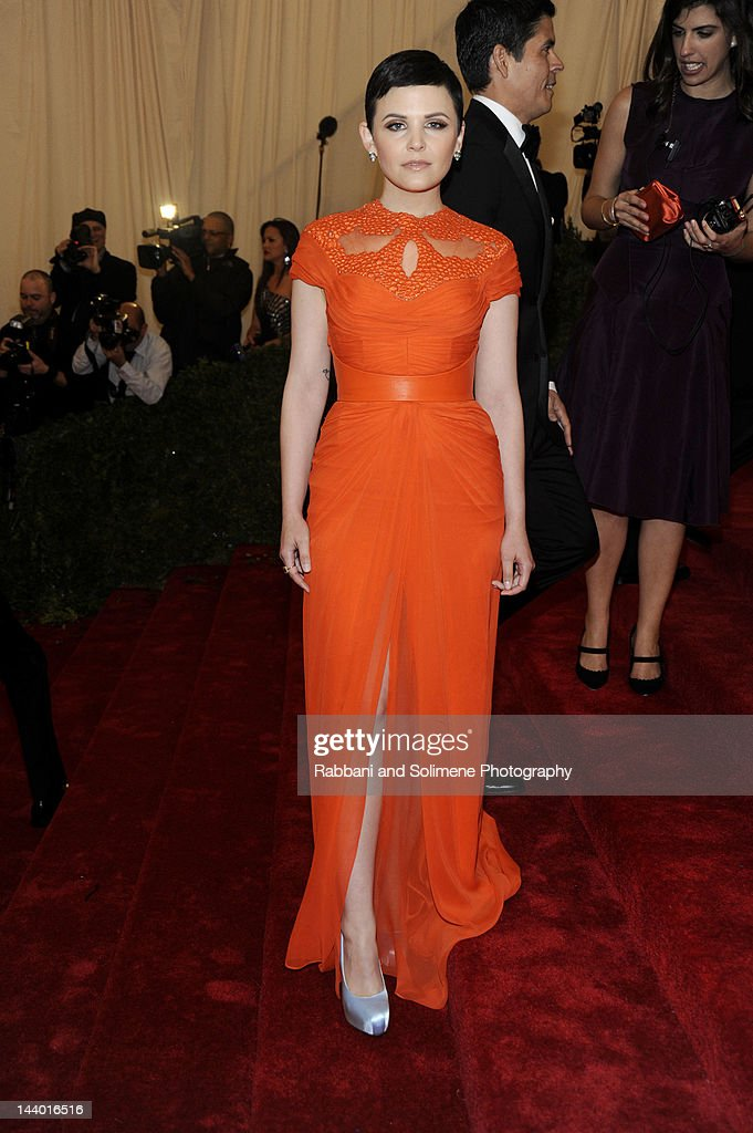 Ginnifer Goodwin attends the 'Schiaparelli And Prada: Impossible Conversations' Costume Institute Gala at the Metropolitan Museum of Art on May 7, 2012 in New York City.