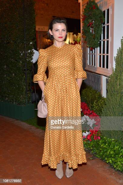 Ginnifer Goodwin attends the Tamara Mellon Palisades Village Opening Party at Blue Ribbon Sushi on December 11 2018 in Pacific Palisades California