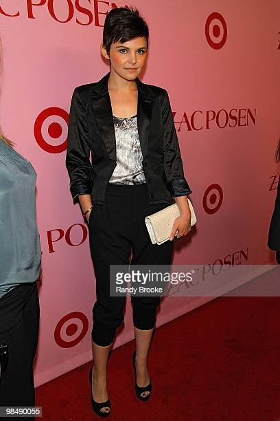 Ginnifer Goodwin attends the Zac Posen for Target Collection launch party at the New Yorker Hotel on April 15, 2010 in New York City.