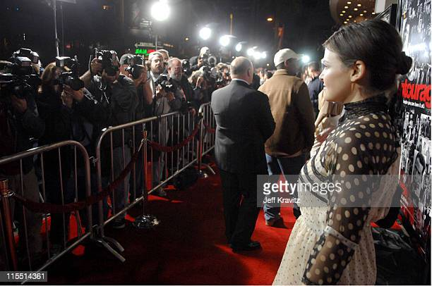 """Ginnifer Goodwin during """"Entourage"""" Third Season Premiere in Los Angeles - Red Carpet at The Cinerama Dome in Los Angeles, California, United States."""