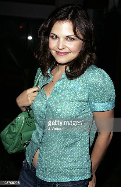Ginnifer Goodwin during Teen Vogue Young Hollywood Issue Party Inside at The Roosevelt Hotel in Hollywood California United States