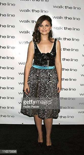 Ginnifer Goodwin during Walk the Line New York City Premiere Arrivals at Beacon Theatre in New York New York United States