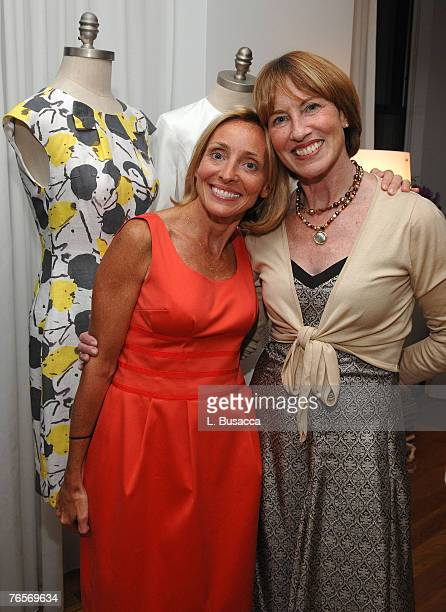 Ginny Hilfiger designer and Betsy Hilfiger during the GINNY H Spring 2008 Preview Party at Bryant Park Hotel on September 5 2007 in New York City