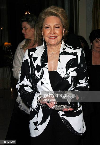 Ginny Mancini during The Larry King Cardiac Foundation Gala at The Regent Beverly Wilshire Hotel in Beverly Hills, California, United States.